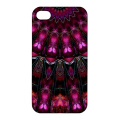 Pink Vortex Half Kaleidoscope  Apple Iphone 4/4s Premium Hardshell Case by KirstenStar