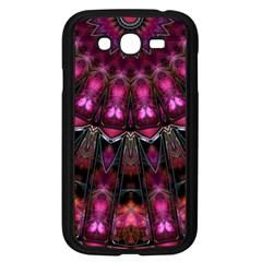 Pink Vortex Half Kaleidoscope  Samsung Galaxy Grand Duos I9082 Case (black) by KirstenStar