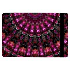 Pink Vortex Half Kaleidoscope  Ipad Air Flip by KirstenStar
