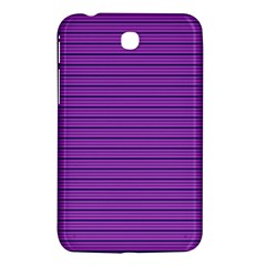 Decorative Lines Pattern Samsung Galaxy Tab 3 (7 ) P3200 Hardshell Case  by Valentinaart