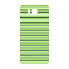 Decorative Lines Pattern Samsung Galaxy Alpha Hardshell Back Case by Valentinaart
