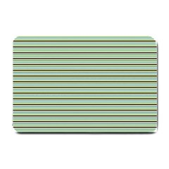 Decorative Lines Pattern Small Doormat  by Valentinaart