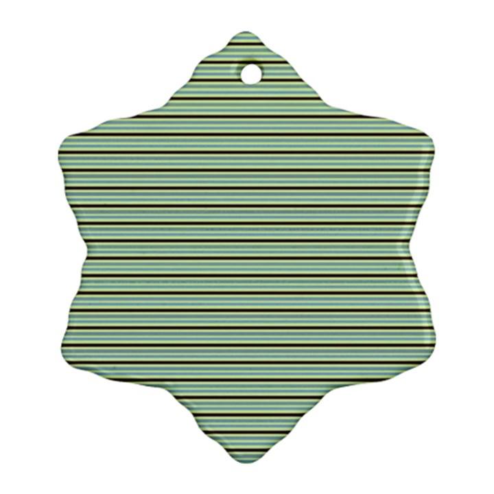Decorative lines pattern Ornament (Snowflake)
