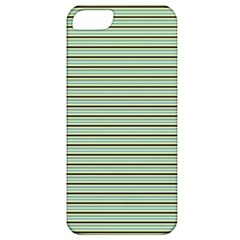 Decorative Lines Pattern Apple Iphone 5 Classic Hardshell Case by Valentinaart