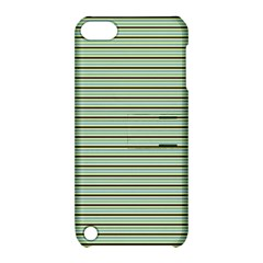 Decorative Lines Pattern Apple Ipod Touch 5 Hardshell Case With Stand by Valentinaart