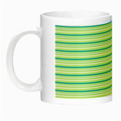 Decorative Lines Pattern Night Luminous Mugs by Valentinaart