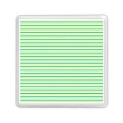 Decorative Lines Pattern Memory Card Reader (square)  by Valentinaart