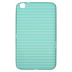 Decorative Lines Pattern Samsung Galaxy Tab 3 (8 ) T3100 Hardshell Case  by Valentinaart