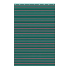 Decorative Lines Pattern Shower Curtain 48  X 72  (small)  by Valentinaart