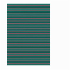Decorative Lines Pattern Large Garden Flag (two Sides) by Valentinaart