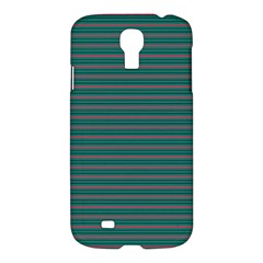 Decorative Lines Pattern Samsung Galaxy S4 I9500/i9505 Hardshell Case by Valentinaart