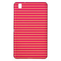 Decorative Lines Pattern Samsung Galaxy Tab Pro 8 4 Hardshell Case by Valentinaart