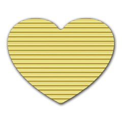 Decorative Lines Pattern Heart Mousepads by Valentinaart