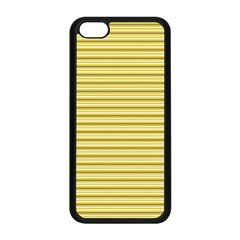 Decorative Lines Pattern Apple Iphone 5c Seamless Case (black) by Valentinaart