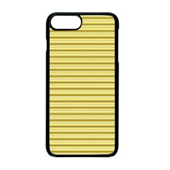 Decorative Lines Pattern Apple Iphone 7 Plus Seamless Case (black) by Valentinaart