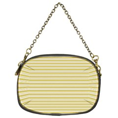 Decorative Lines Pattern Chain Purses (one Side)  by Valentinaart