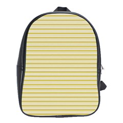 Decorative Lines Pattern School Bags (xl)  by Valentinaart