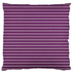 Decorative Lines Pattern Large Cushion Case (two Sides) by Valentinaart