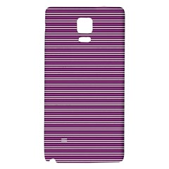 Decorative Lines Pattern Galaxy Note 4 Back Case by Valentinaart
