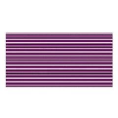 Decorative Lines Pattern Satin Shawl by Valentinaart