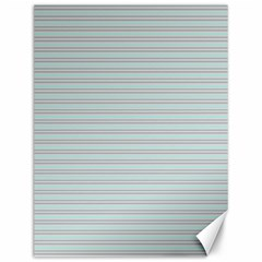 Decorative Lines Pattern Canvas 12  X 16   by Valentinaart