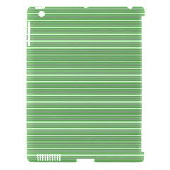 Decorative Lines Pattern Apple Ipad 3/4 Hardshell Case (compatible With Smart Cover) by Valentinaart