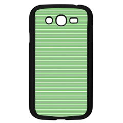 Decorative Lines Pattern Samsung Galaxy Grand Duos I9082 Case (black) by Valentinaart