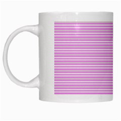 Decorative Lines Pattern White Mugs by Valentinaart