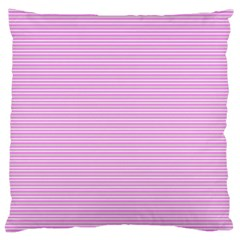 Decorative Lines Pattern Large Cushion Case (one Side) by Valentinaart