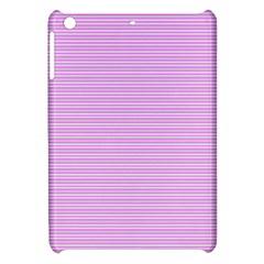 Decorative Lines Pattern Apple Ipad Mini Hardshell Case by Valentinaart