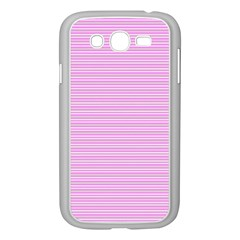 Decorative Lines Pattern Samsung Galaxy Grand Duos I9082 Case (white) by Valentinaart