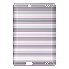 Decorative Lines Pattern Amazon Kindle Fire Hd (2013) Hardshell Case by Valentinaart