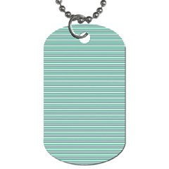 Decorative Line Pattern Dog Tag (two Sides) by Valentinaart