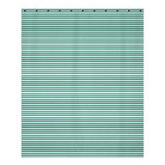 Decorative Line Pattern Shower Curtain 60  X 72  (medium)  by Valentinaart