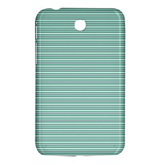 Decorative Line Pattern Samsung Galaxy Tab 3 (7 ) P3200 Hardshell Case  by Valentinaart