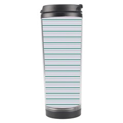 Decorative Line Pattern Travel Tumbler by Valentinaart