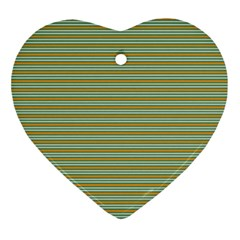 Decorative Line Pattern Ornament (heart) by Valentinaart