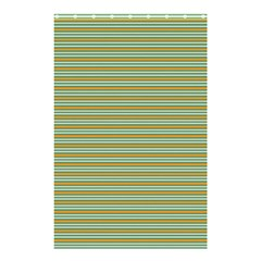 Decorative Line Pattern Shower Curtain 48  X 72  (small)  by Valentinaart
