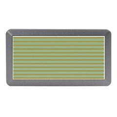 Decorative Line Pattern Memory Card Reader (mini) by Valentinaart
