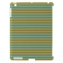 Decorative Line Pattern Apple Ipad 3/4 Hardshell Case (compatible With Smart Cover) by Valentinaart