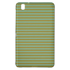 Decorative Line Pattern Samsung Galaxy Tab Pro 8 4 Hardshell Case by Valentinaart