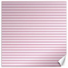 Decorative Line Pattern Canvas 16  X 16   by Valentinaart