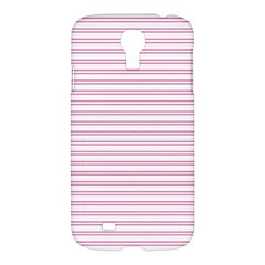 Decorative Line Pattern Samsung Galaxy S4 I9500/i9505 Hardshell Case by Valentinaart