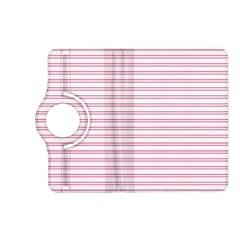 Decorative Line Pattern Kindle Fire Hd (2013) Flip 360 Case by Valentinaart
