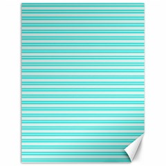 Decorative Line Pattern Canvas 12  X 16   by Valentinaart