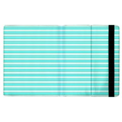 Decorative Line Pattern Apple Ipad 2 Flip Case by Valentinaart