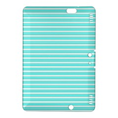 Decorative Line Pattern Kindle Fire Hdx 8 9  Hardshell Case by Valentinaart
