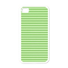 Decorative Line Pattern Apple Iphone 4 Case (white) by Valentinaart