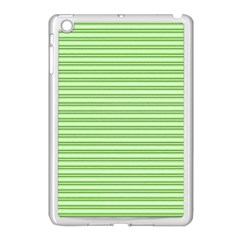 Decorative Line Pattern Apple Ipad Mini Case (white) by Valentinaart