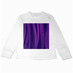 Artistic Pattern Kids Long Sleeve T Shirts by Valentinaart